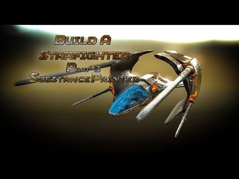 Build a Starfighter (Substance Painter/Sketchfab) Part 3