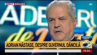 Adrian Năstase: Am fost trădat