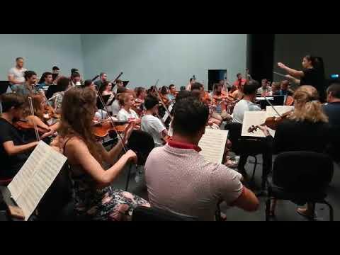 Así suena la Ceuta International Symphony Orchestra