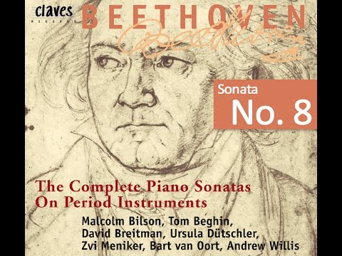 Beethoven: The Complete Piano Sonatas On Period Instruments - Sonata No. 8 / Tom Beghin
