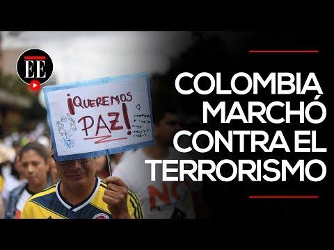 Colombia marchó para exigir la paz   El Espectador