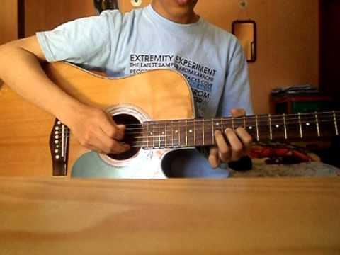 cover gitar terlalu lama vierra by Runz.AVI