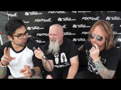 DROWNING POOL INTERVIEW W/ ROCKWELL UNSCENE - CHICAGO OPEN AIR