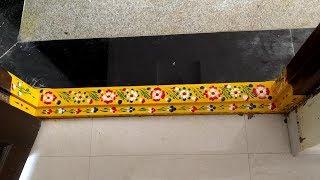 Gadapa Muggulu | Gadapa Designs | Gadapa Paint | Gadapa Art with Paints