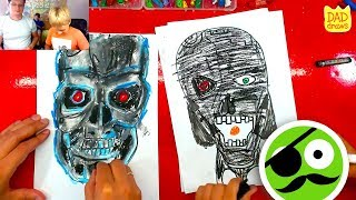 How to draw a Terminator 2