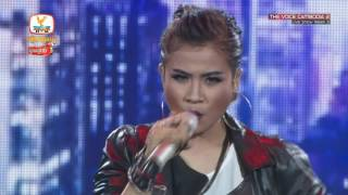 The Voice Cambodia - ឈីន រតនៈ -  បងមានថ្មីអូនមានគេ - Live Show 29 May 2016