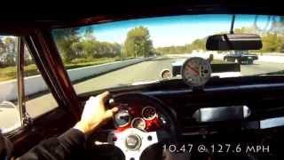 1965 Chevrolet Nova Prostreet Drag Race GoPro Helmet Cam