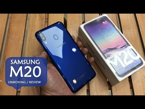 SAMSUNG GALAXY M20 UNBOXING AND REVIEW