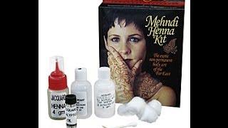 Mehndi kit instructions Thumbnail
