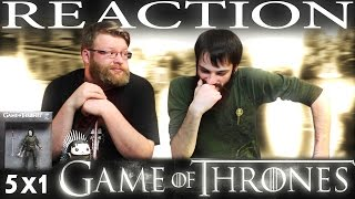 Game of Thrones 5x1 REACT ON The Wars to Come