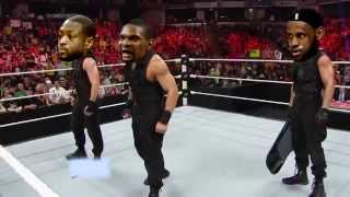LeBron James leaves the Miami Heat (WWE Parody)