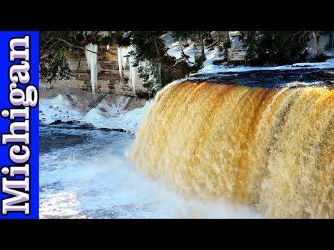 Tahquamenon Falls in Michigan's Upper Peninsula | #PureMichigan