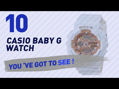 Casio Baby G Watch Top 10 // New & Popular 2017