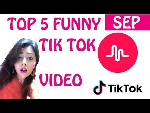 Top 5 Trending September Best Funny Dance Romantic Tik Tok Musically India Videos