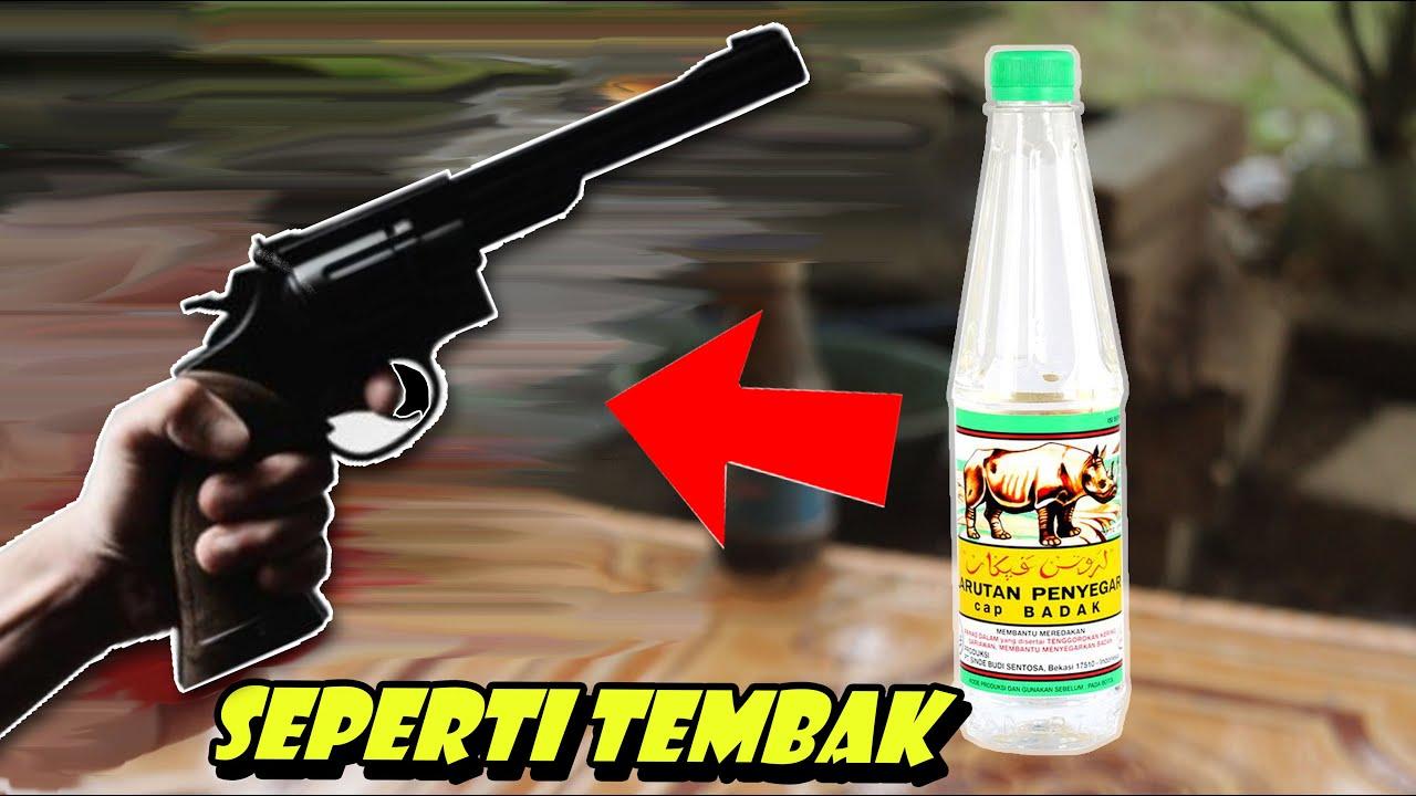 Membuat Pistol Dari Botol Bekas