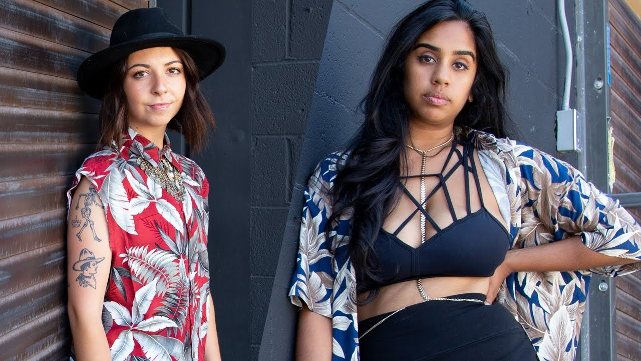 Women Try Styling Aloha Shirts 4 Different Ways