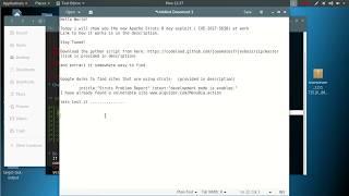 Apache Struts Vulnerablity CVE-2017-5638 Remote Code Execution Tutorial