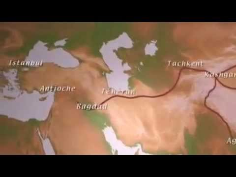 Animated Map of The Silk Route