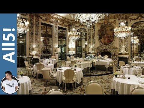 5 Of The Most Expensive Restaurants!