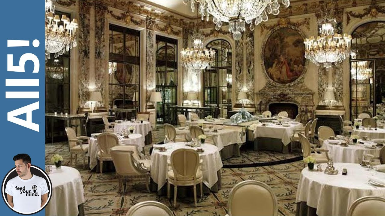 5 Of The Most Expensive Restaurants