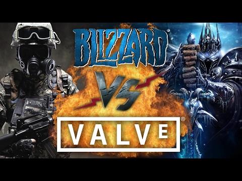 видео: Рэп Баттл - valve vs. blizzard