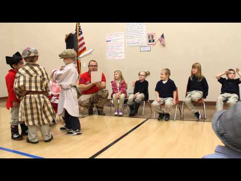 How the National Anthem came about....by Entheos Academy Kindergardeners