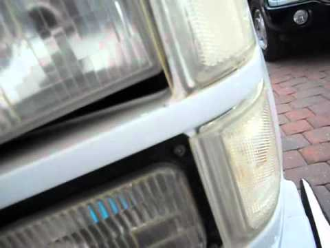 How To Adjust Headlights >> 88- 98 Fullsize Chevy GMC headlight removal. - YouTube