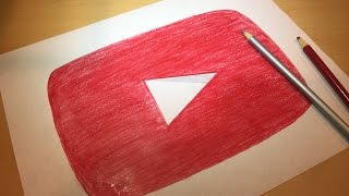 How to Draw the Youtube Logo | Logo Drawing