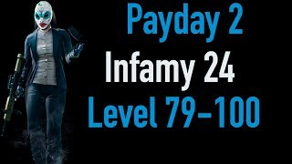 Payday 2 Infamy 24 | Part 3 | Level 79-100 | Xbox One