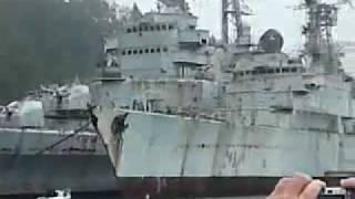 Bretagne,cimetiere des bateaux de landevennec
