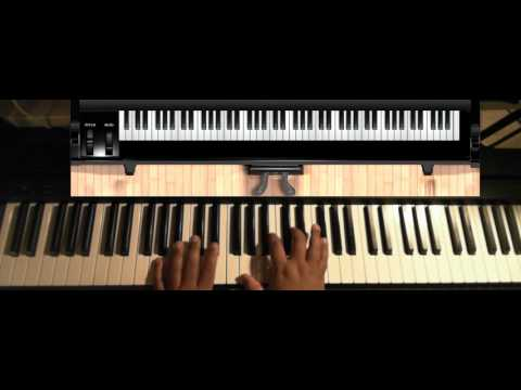 Rock Wit'cha (by Bobby Brown) - Piano Tutorial