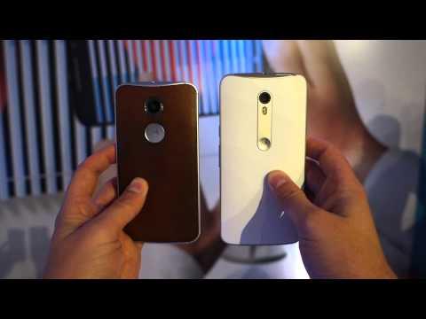 Moto X Pure Edition (2015) vs. Moto X (2nd Gen)