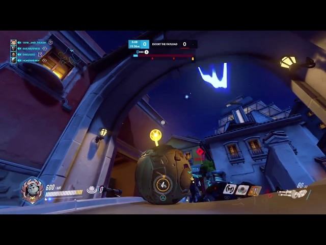 Overwatch They tried to stop the Wrecking Ball