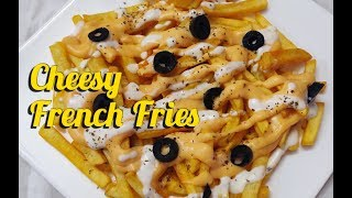 Cheesy french fries   Best french fries recipe   easy to cook