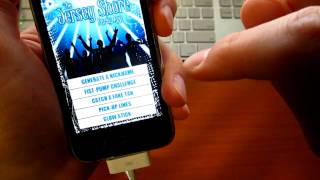 Fist Pump and Catch a Fake Tan with the Jersey Shore iPhone / iPod Touch App Thumbnail