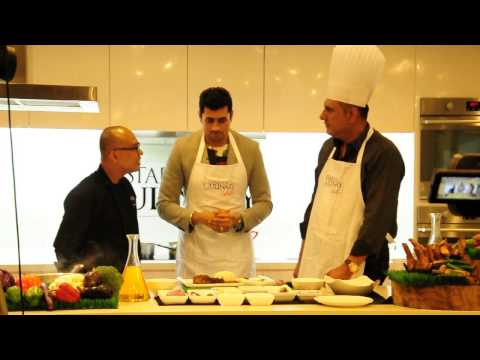 Behind The Scene Filming Cooking Demo By Chef Yol With IIFa 2015