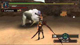 Monster Hunter Freedom Unite Part 79: Tigrex Fail & No Hit Win