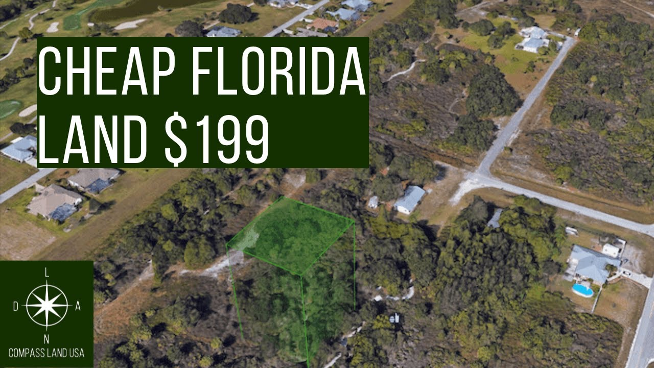 Sold by Compass Land USA - Quarter Acre Florida Investment Property
