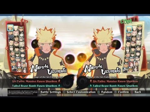 Naruto Ultimate Ninja Storm 4: How to unlock ALL Characters and ALL Costumes