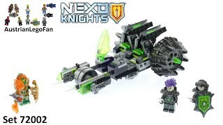 lEGO NEXO Knights Twinfector review! 72002