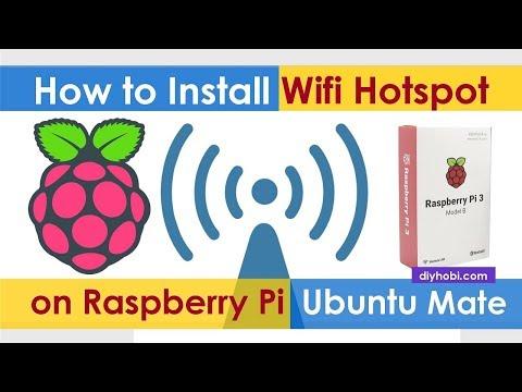 Install Wifi Hotspot on Raspberry Pi—Ubuntu Mate – Do it your self Hobby