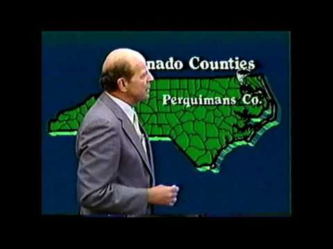 WRAL-TV: Tornado Outbreak Coverage (March 29, 1984)