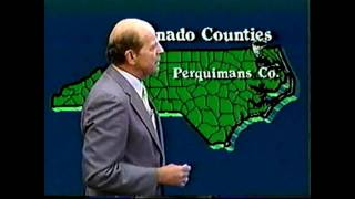 WRAL-TV: Tornado Outbreak Coverage (March 29, 1984)