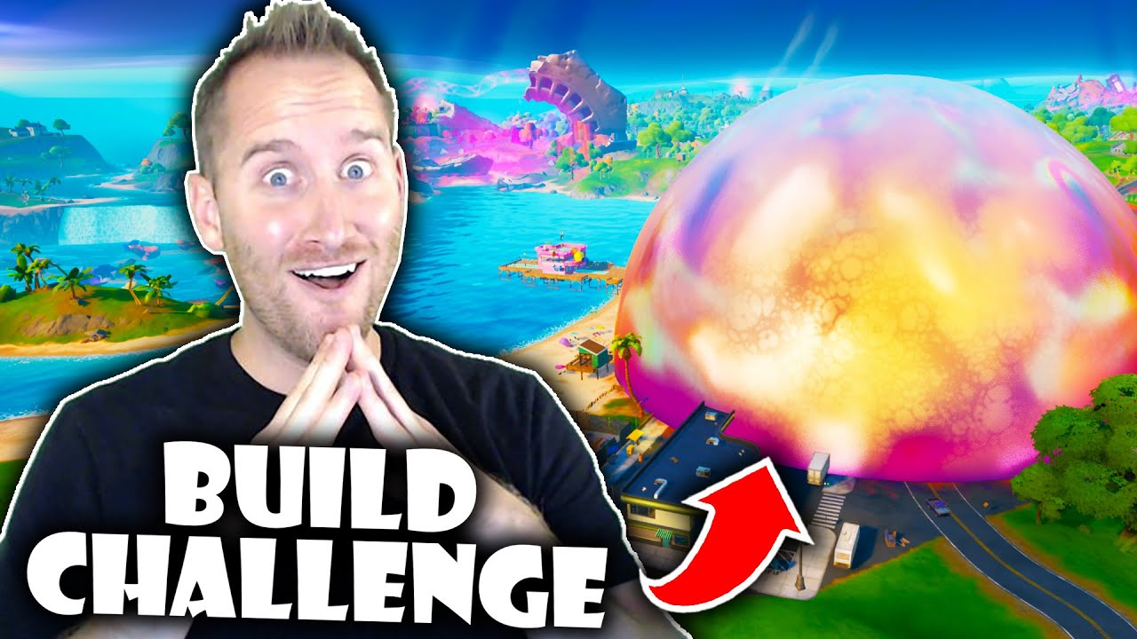 Fortnite Season 8 Build Challenge!