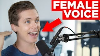 GUY SINGING with MALE & FEMALE VOICES