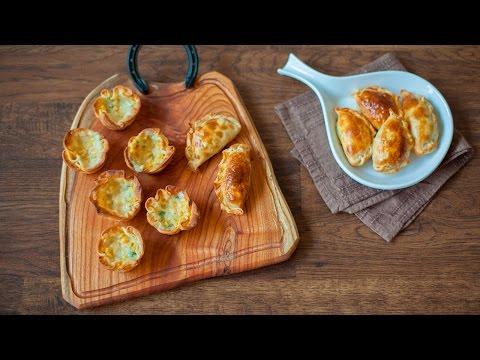 Argentinische Empanadas mit Maisfüllung - 2 Versionen
