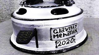 Шикарная Самоделка из Колёсного Диска / DIY - Mechanical Trash bin made from old Gas Bottle