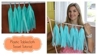 Easy Tassel/Garland Tutorial