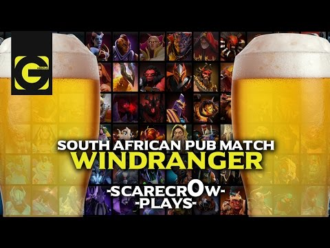 South African Dota 2 Pub #001 Windranger
