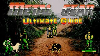 #MetalGear #MetalGearNES #NES Metal Gear NES - ULTIMATE GUIDE - 100% All Items & Bosses - Deathless